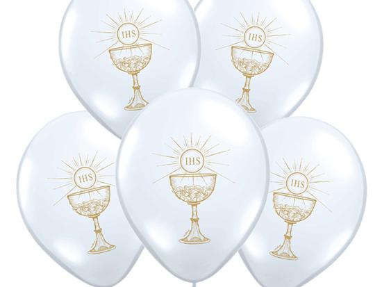 """Balony Komunijne """"Kielich IHS"""""""