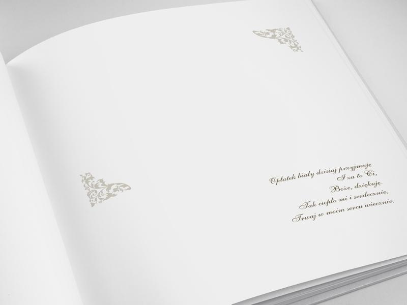 Księga Gości Komunijnych I Komunia Święta / KGK7
