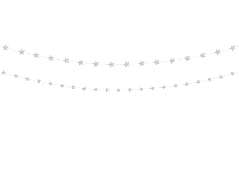 Girlanda Gwiazdy, srebrny