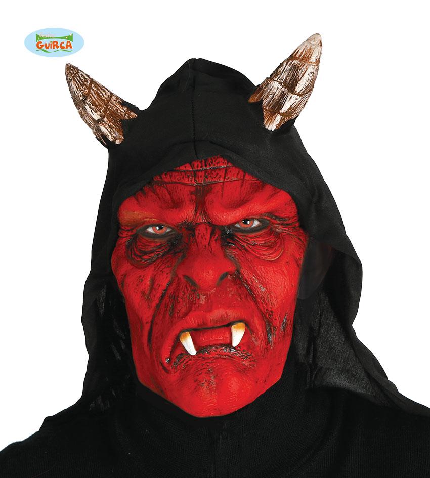 """Maska na Halloween """"Demona z kapturem"""""""