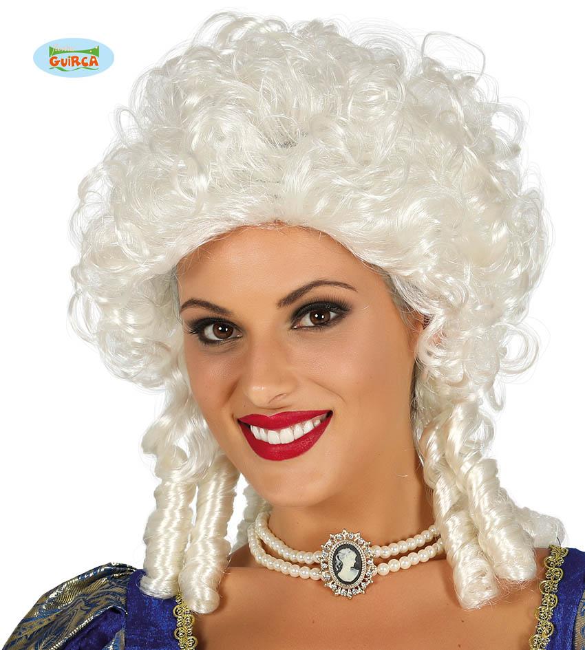 "Damska peruka blond ""Biała markiza"" / 4070"