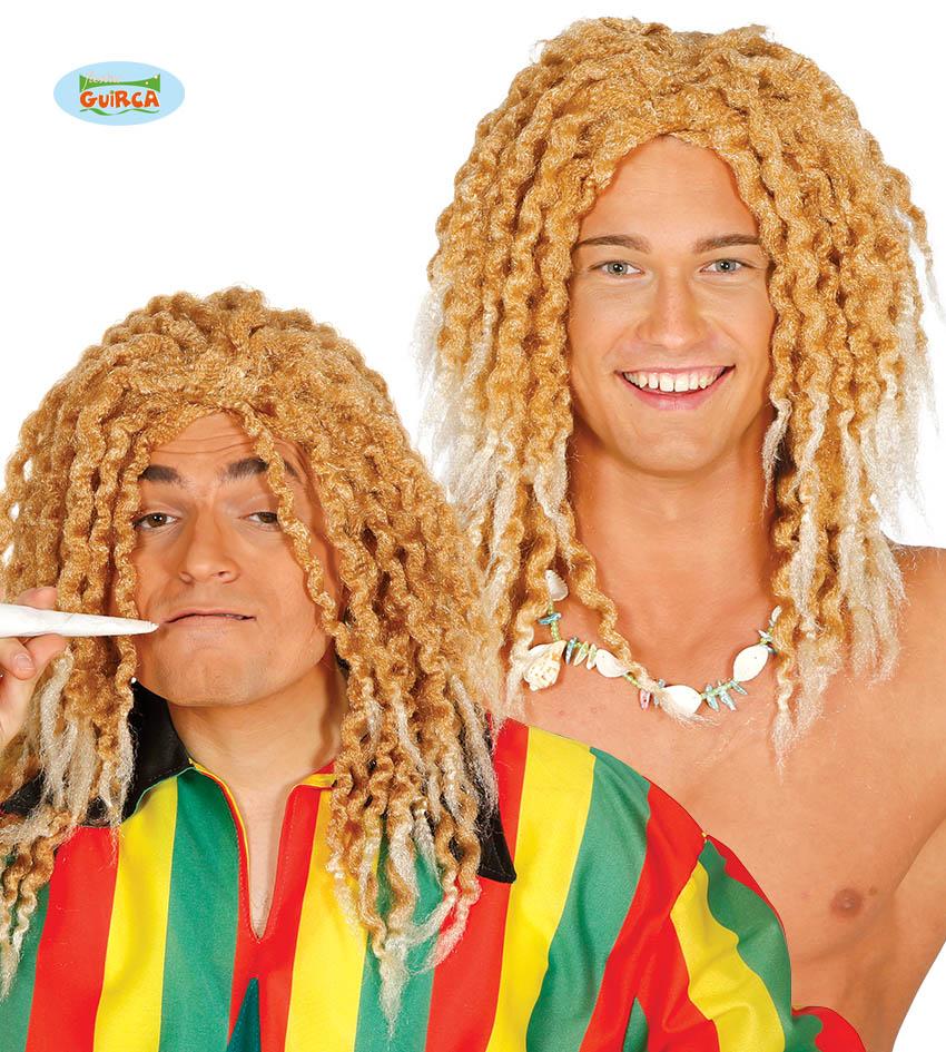 "Męska peruka ""Blond Rasta"" / 4579"