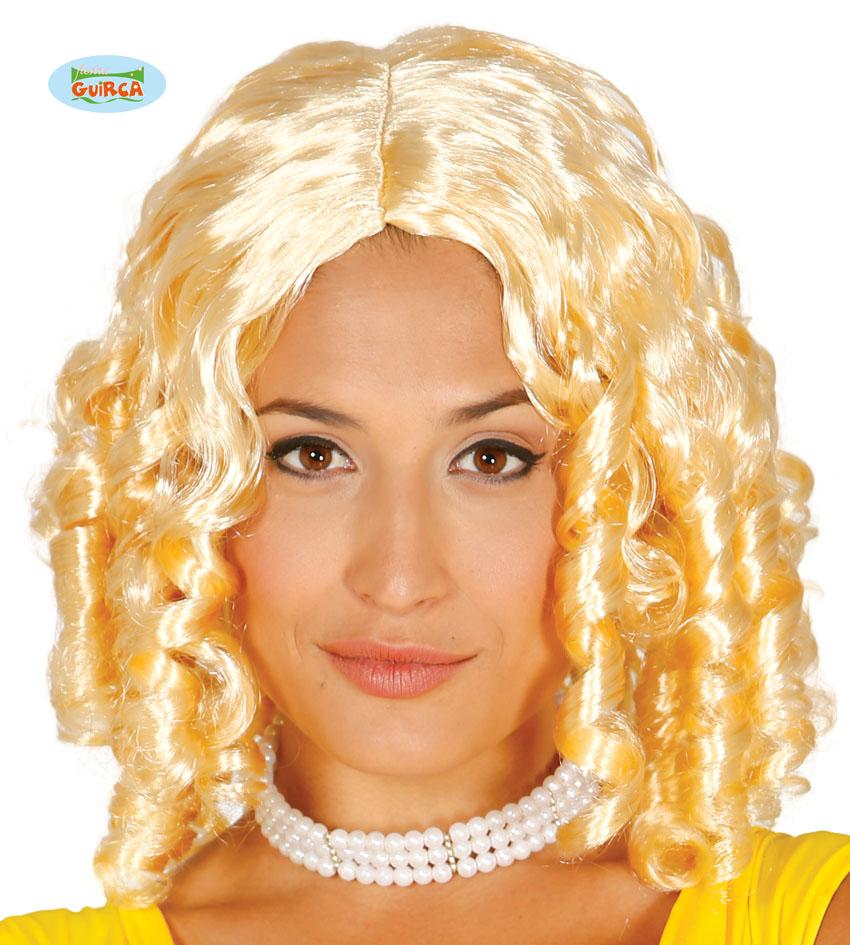 """Damska peruka blond """"Loki"""" / 4334"""