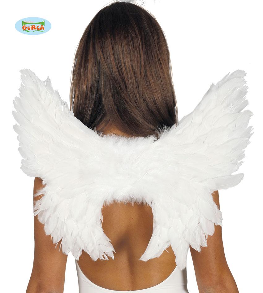 Skrzydła Anioła, 55x45 cm, białe
