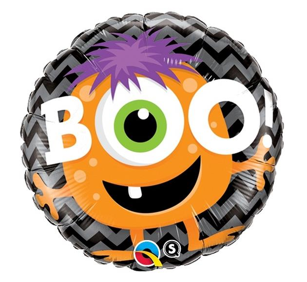 "Balon na Halloween ""BOO! Potworek"", 46 cm / 18491"