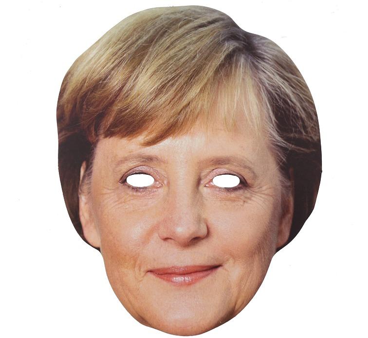 "Maska ""Angela Merkel"""