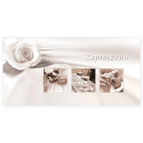 Zaproszenia ślubne / ArtN ZZ 28