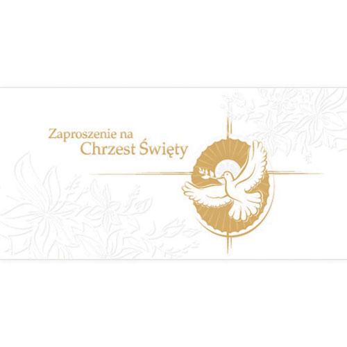 Zaproszenia na Chrzest Święty / ZCH05