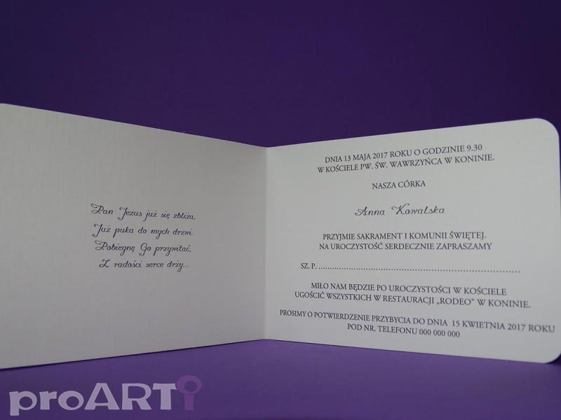 Zaproszenia komunijne MZK-VS17-007