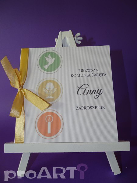 Zaproszenia komunijne MZK-DA17-009