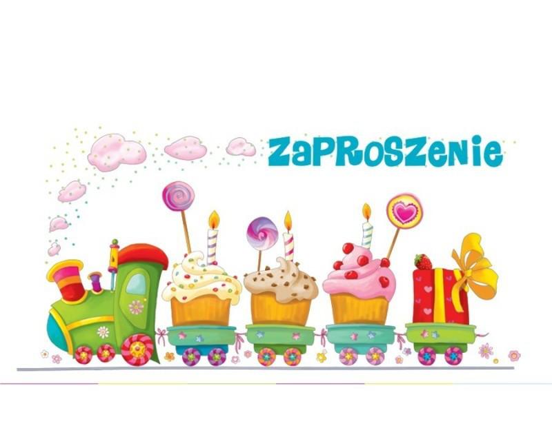 Zaproszenia na urodziny dziecka / ZU03