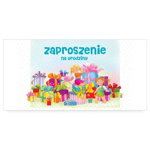 Zaproszenia na urodziny dziecka / ZU02