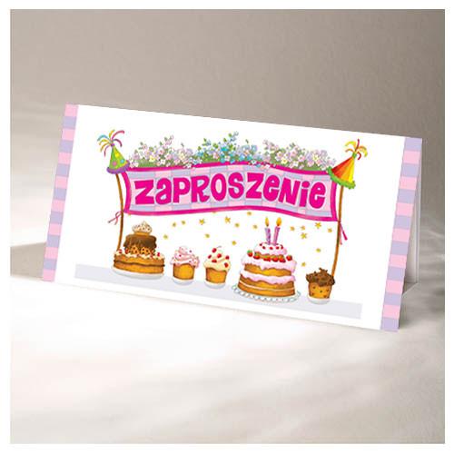Zaproszenia na urodziny dziecka / ZU04