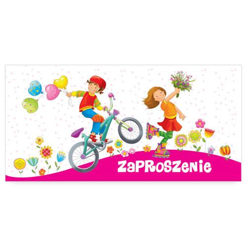 Zaproszenia na urodziny dziecka / ZU07