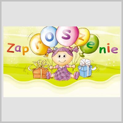 Zaproszenia na urodziny dziecka / MK-Z 208