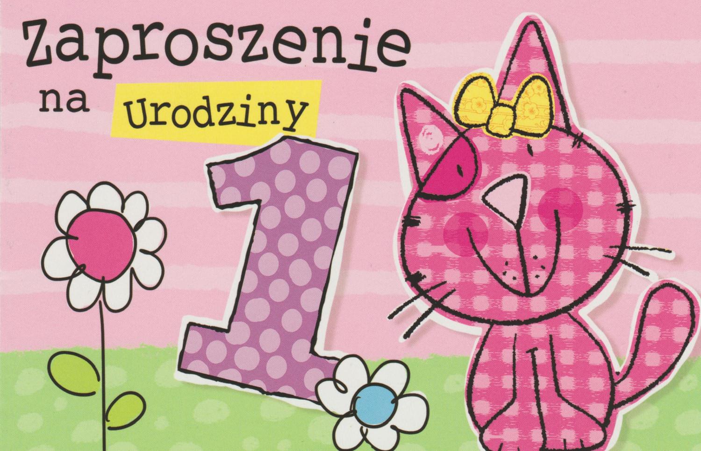 Zaproszenia Urodzinowe Dla Dziecka Urodziny Dziecka Proarti