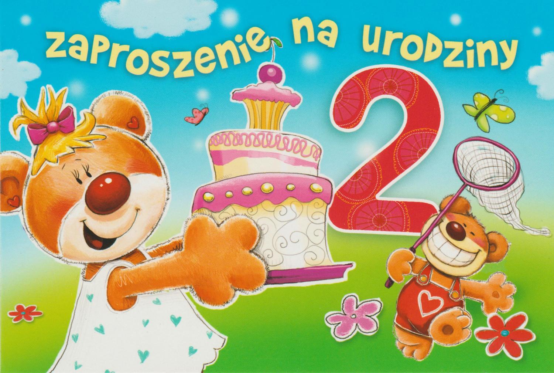 Zaproszenia na 2 urodziny / Z.C6-521