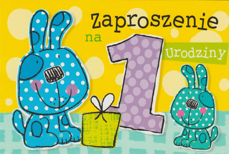 Zaproszenia na Roczek / Z.C6-611