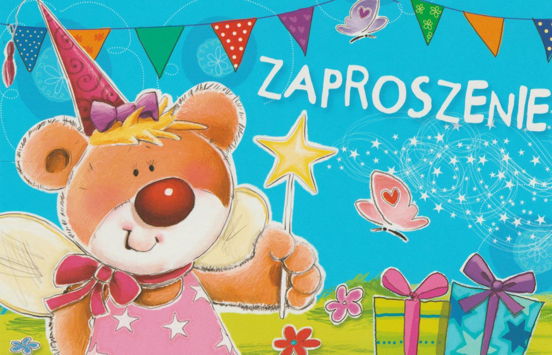Zaproszenia na urodziny dziecka / Z.C6-484