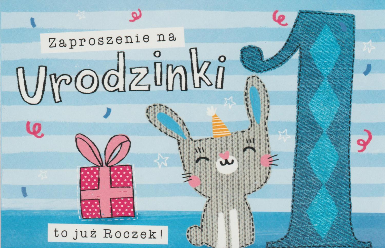 Zaproszenia na Roczek / Z.C6-615