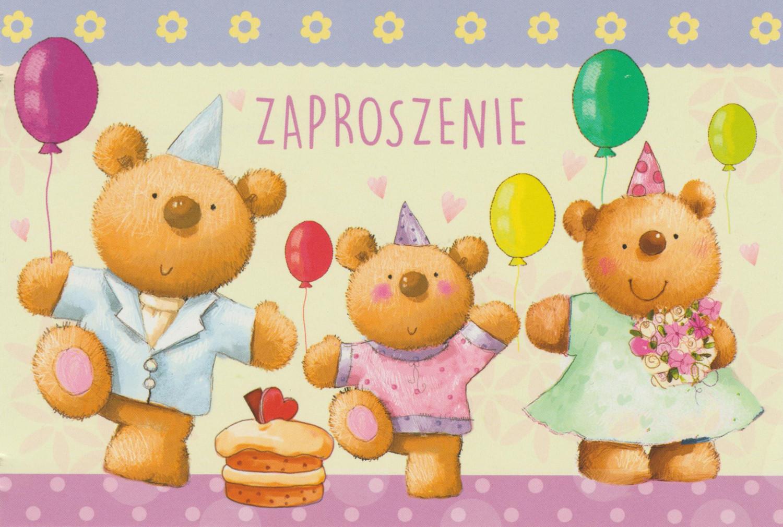 Zaproszenia na urodziny / Z.C6-573