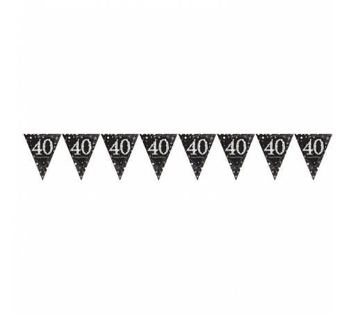 Girlanda flagietki na 40 urodziny / 9900568