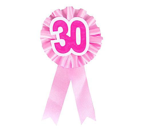 """Kotylion urodzinowy na """"30 urodziny"""" / CH-K30R"""