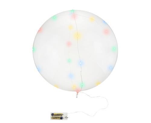 """Balon z PVC 21"""" + drucik 30 ledów"""