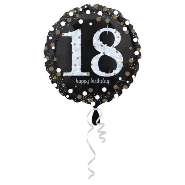 """Balon na urodziny foliowy na """"18 urodziny"""" / 43 cm"""