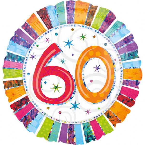 """Balon foliowy na """"60 urodziny"""" / 1607201"""