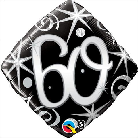 """Balon foliowy 18"""" """"Liczba 60"""""""