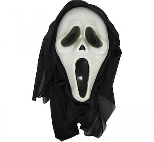 "Maska na Halloween ""Krzyk"" / GD124"
