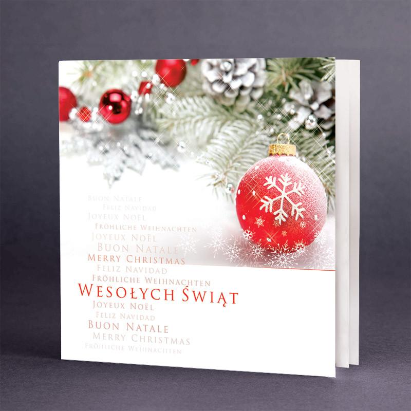 Kartka świąteczna na Boże Narodzenie / CH-0114