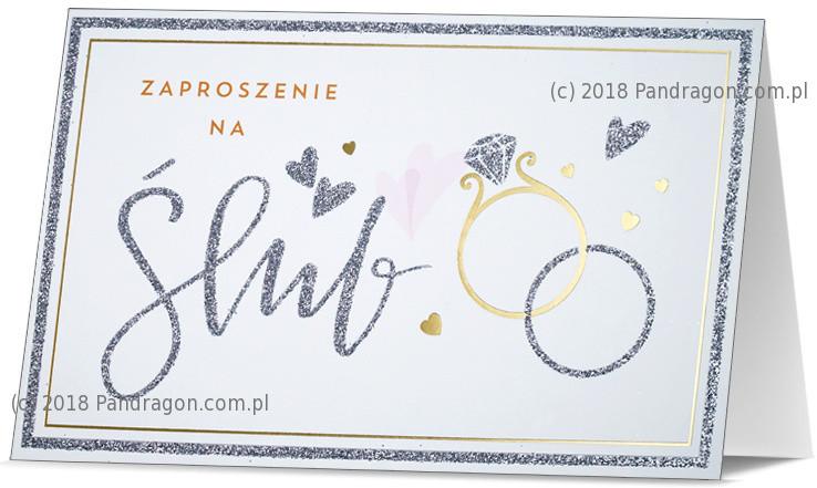 Zaproszenia ślubne / Z.STAR-14