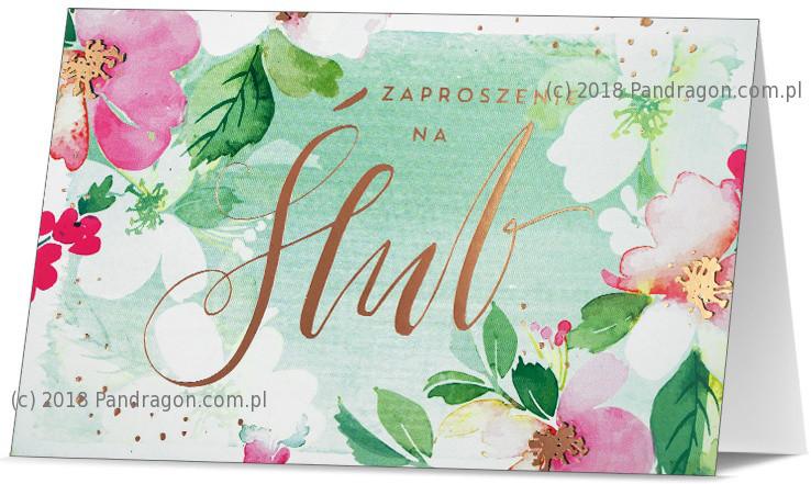 Zaproszenia ślubne / Z.STAR-12