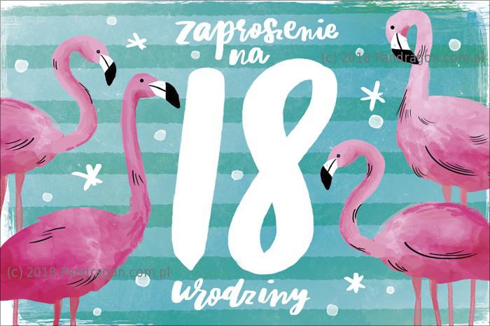 Zaproszenia na 18 urodziny / Z.C6-632