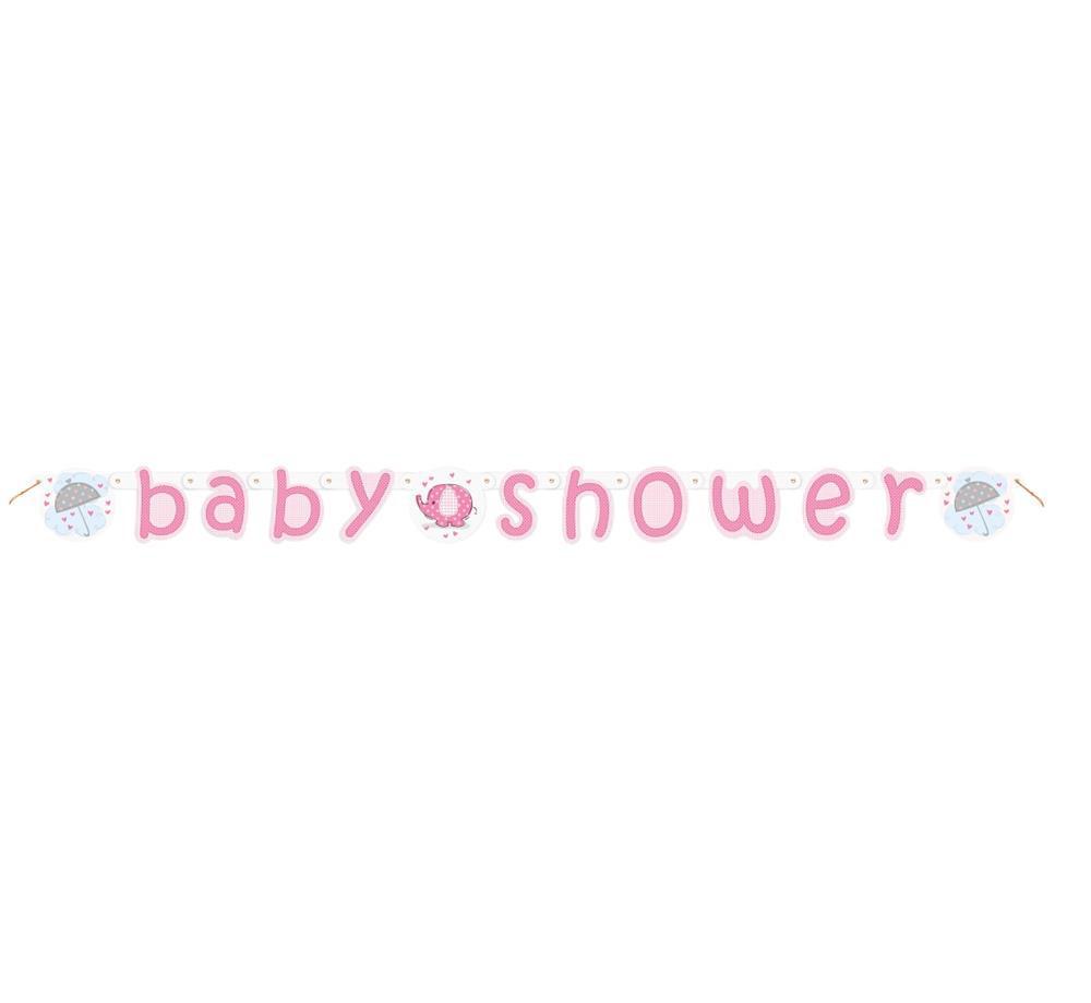 """Baner na przywitanie dziecka """"Baby Shower - Słonik"""" / 41669"""
