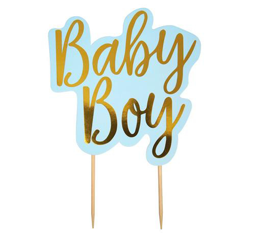 "Pikery koktajlowe ""Pattern Works- Baby Boy"""