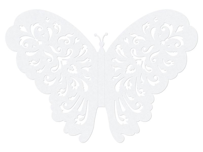 """Dekoracje papierowe """"Motyl"""" / 14 cm"""