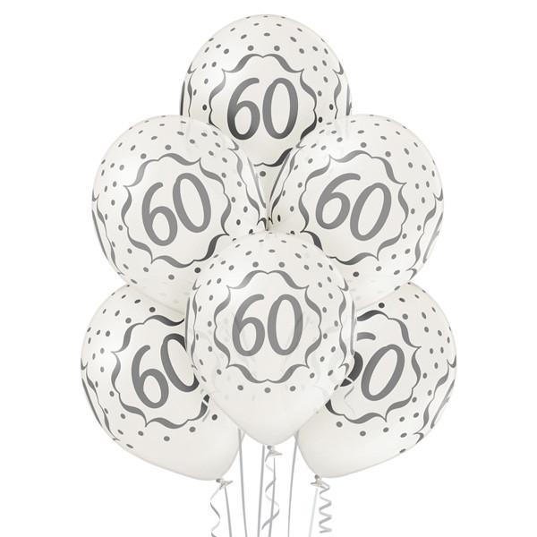 Balony lateksowe na 60 Rocznicę Ślubu
