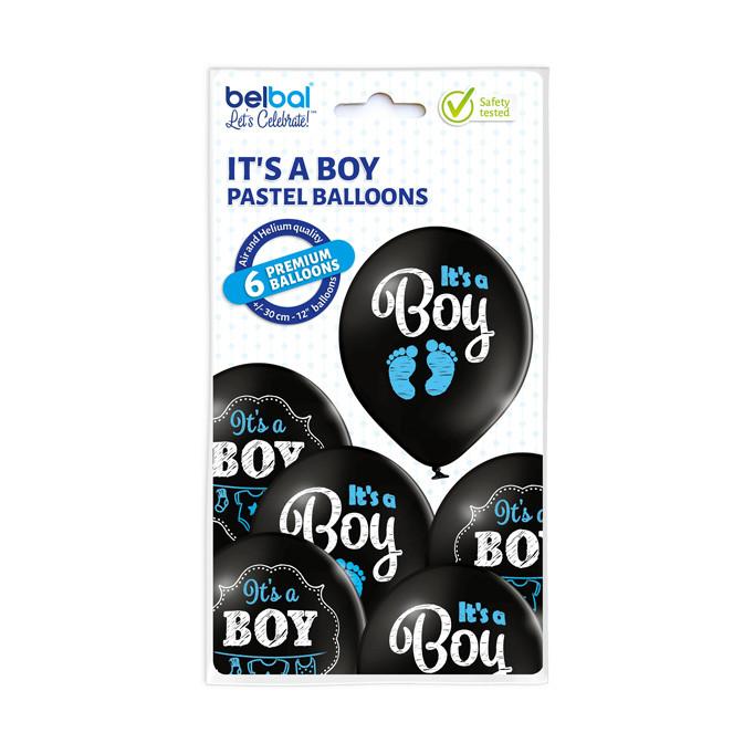 """Balony na Narodziny dziecka lateksowe """"It`s a Boy"""" / 5000287"""