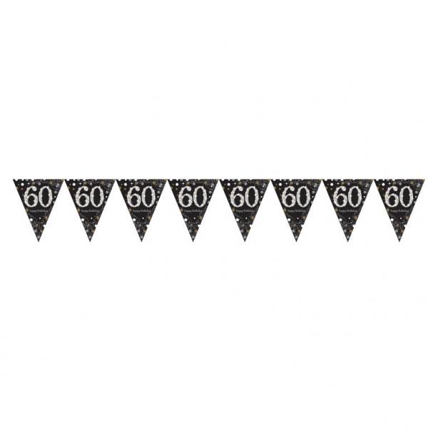 Girlanda flagietki na 60 urodziny / 9900570
