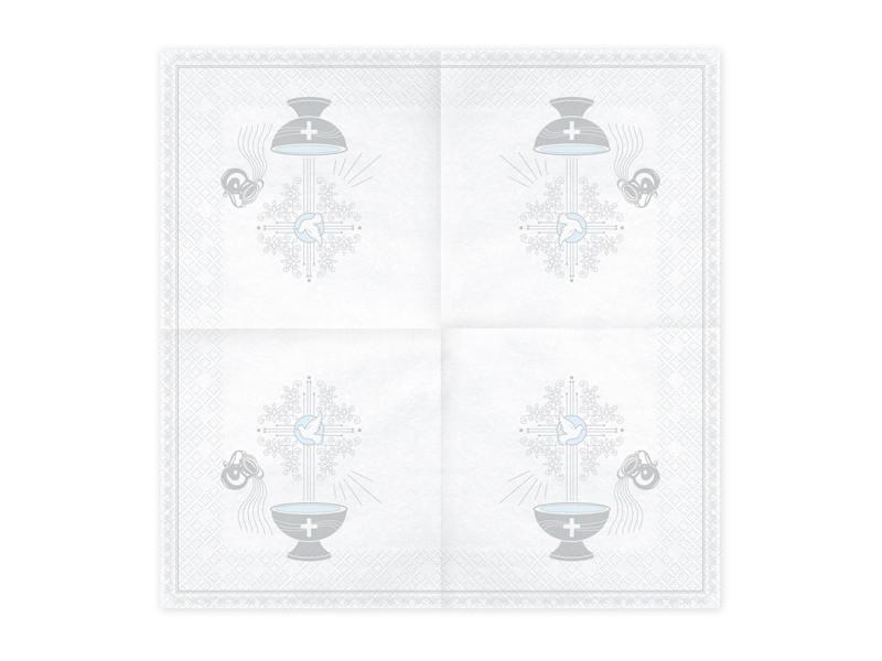 Serwetki Chrzest Święty / SP33-65-018