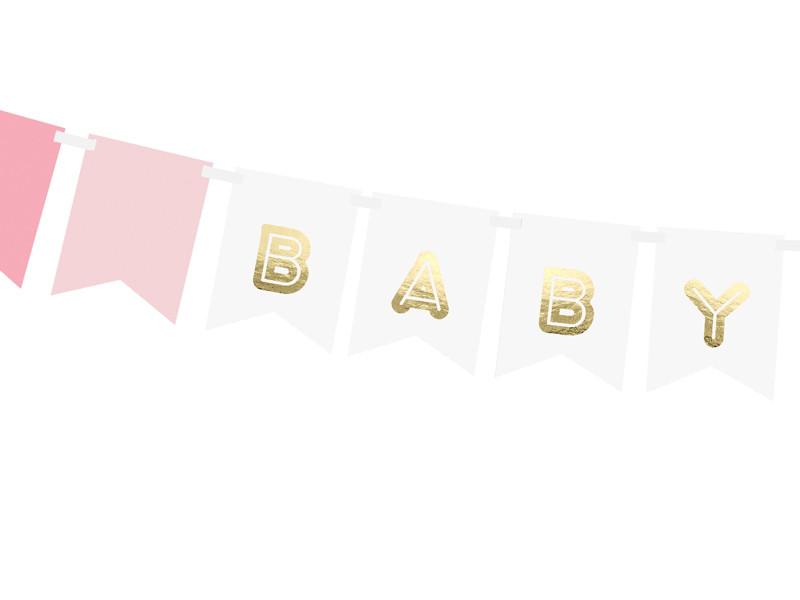 """Girlanda na Narodziny dziecka """"Baby Girl"""" / GRL60"""