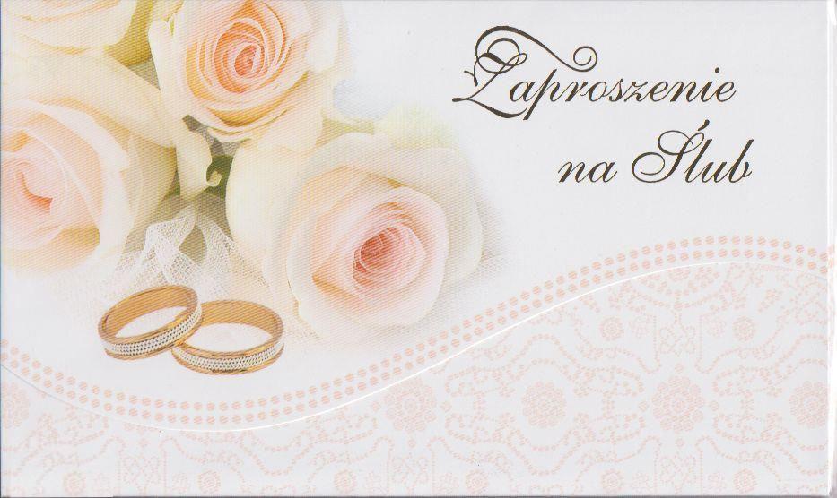 Zaproszenia ślubne / ZS_SL_36522