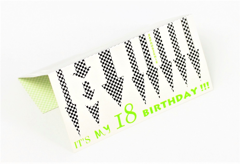 Zaproszenia na 18 urodziny / MK-Z 230