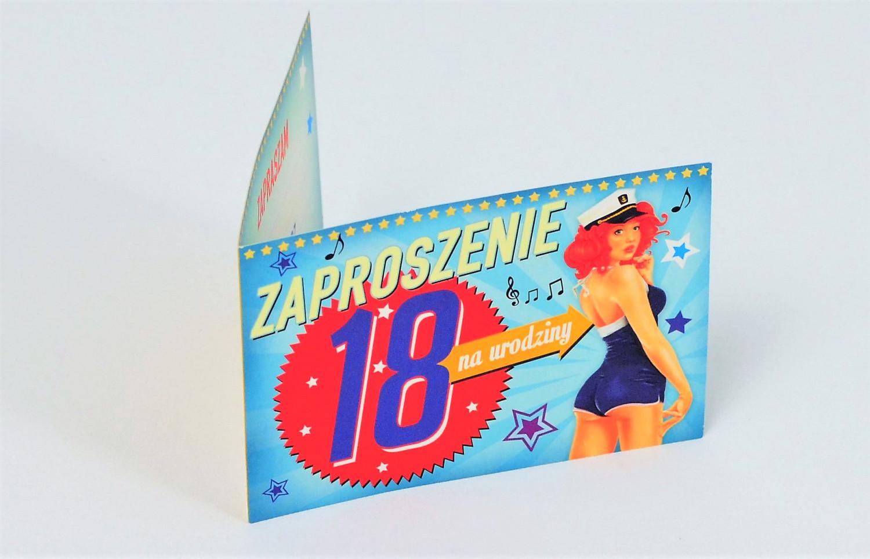 Zaproszenia na 18 urodziny / Z.C6-436