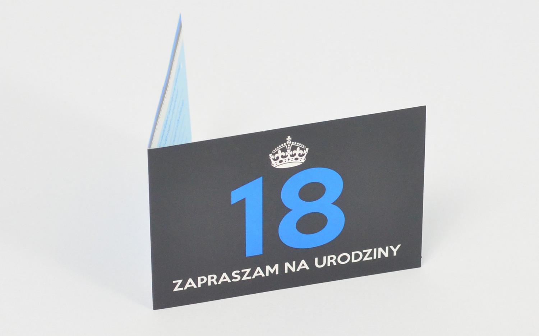 Zaproszenia na 18 urodziny / Z.C6-499