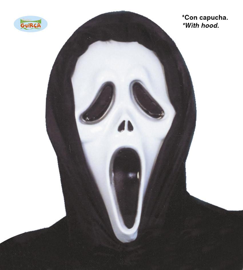 """Maska na Halloween """"Krzyk"""" / 111-1140"""