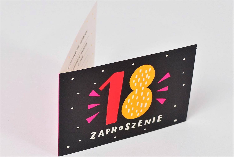 Zaproszenia na 18 urodziny / Z.C6-635